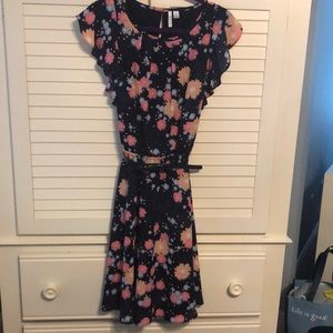 EUC Lined Floral Dress